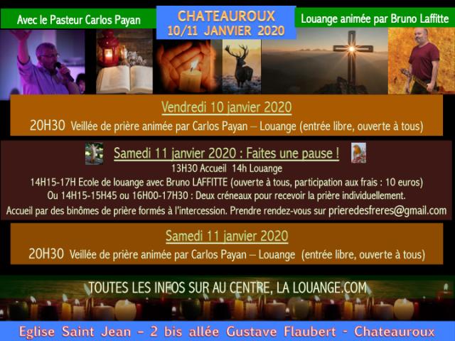 10-11 janvier Chateauroux
